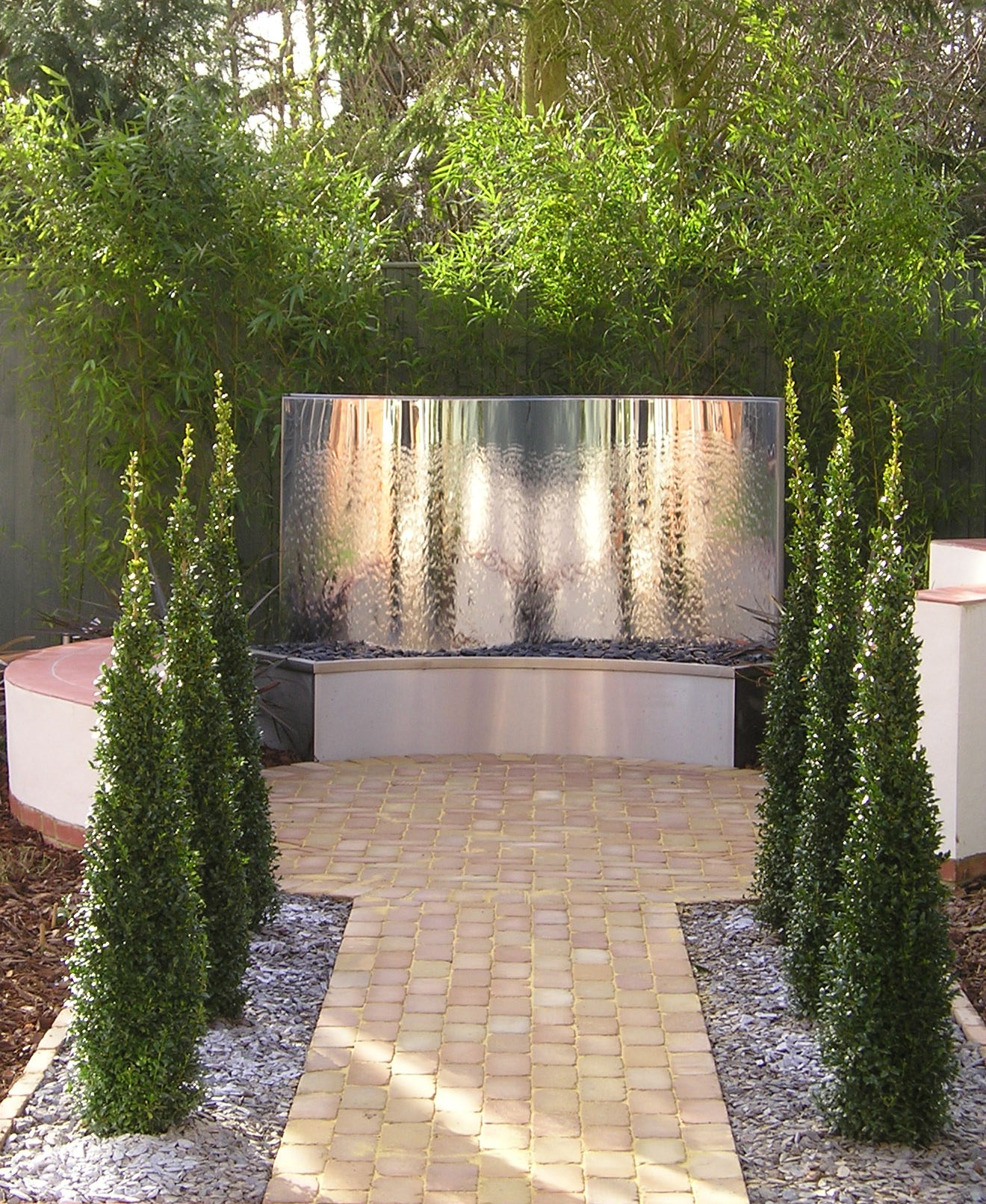 Mirror Water Feature